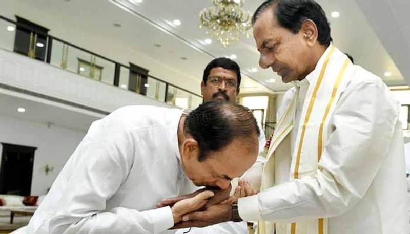 cm kcr went to vizag