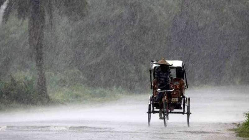 4 districts heavy rain....meteorological centre information