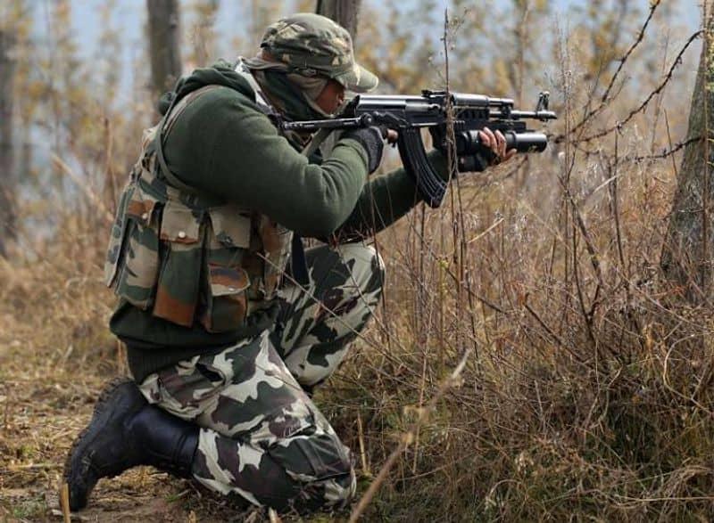 Indian Army slaughters Hizbul Mujahideen terrorist Kashmir patrol party attack
