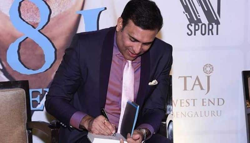 Laxman revealed that it was an elderly person who asked him to write his autobiography