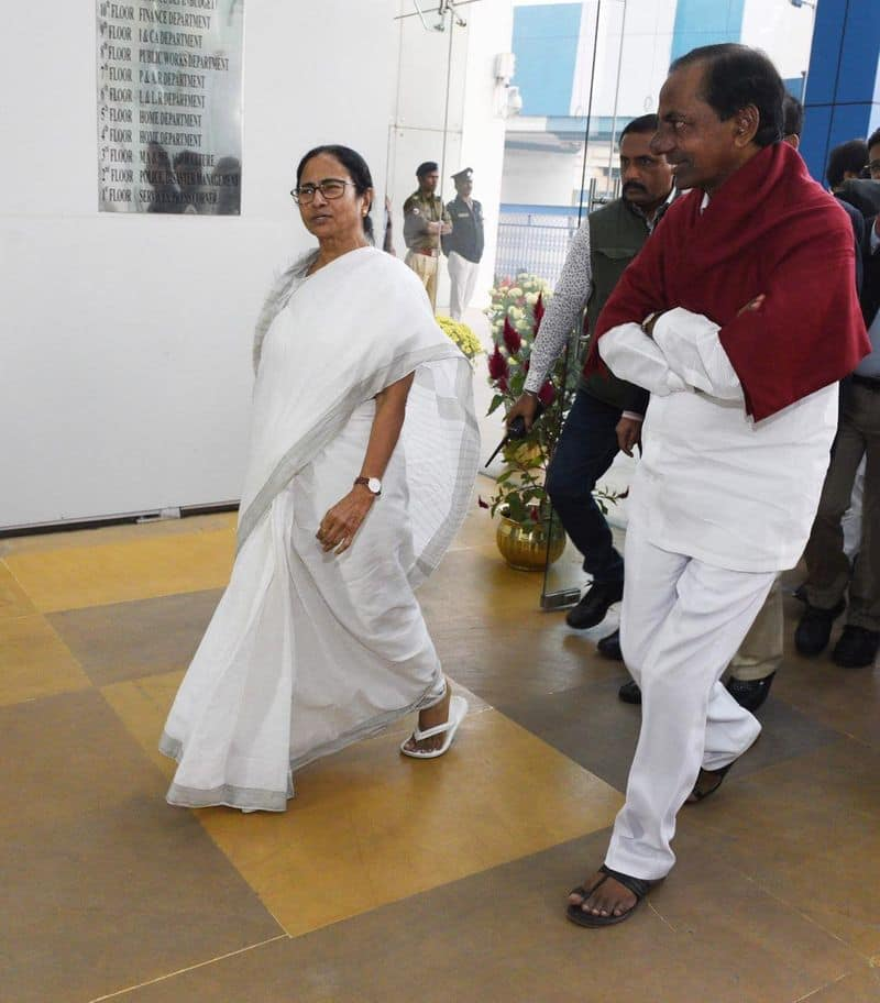 TRS KCR Mamata Banerjee's United India Rally defeating BJP not the only motive