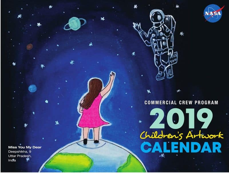 NASA features three entries of Indian kids for its 2019 calendar