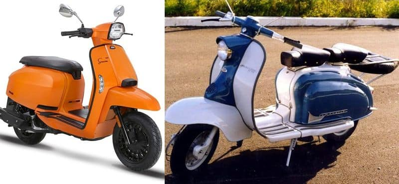 Coming back Lambretta electric scooter will launch India Soon