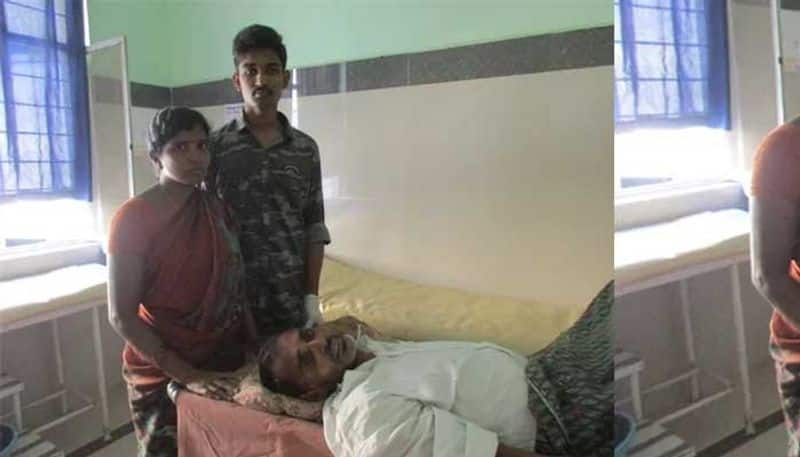 KCR grandson Himanshu comes to rescue for physically challenged person