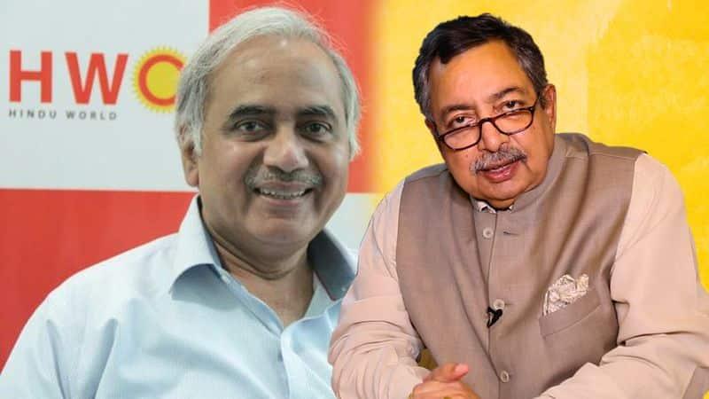 bjp rss seshadri chari praise vinod dua metoo fake news