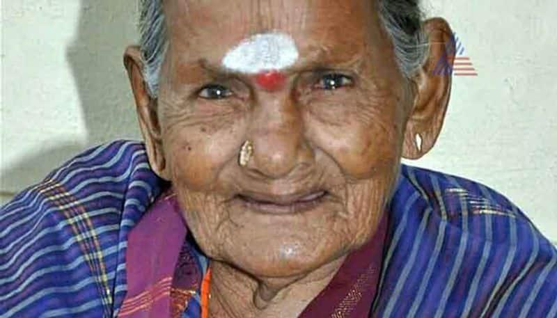 Sulagitti Narasamma passes away In Bengaluru