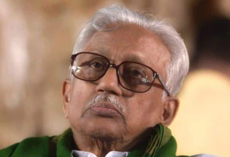 K.Anbazhgan admitted in apollo