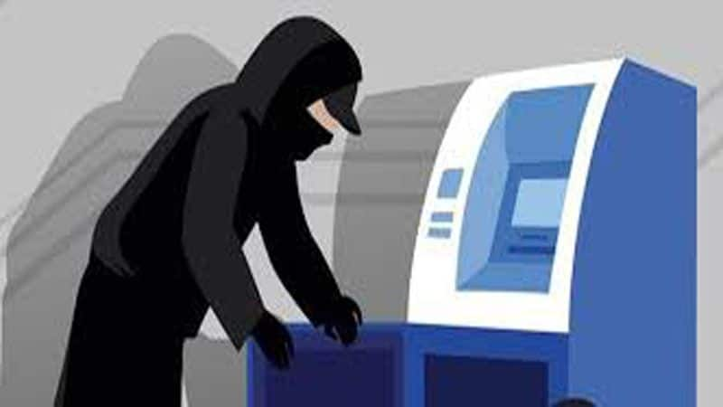 Kaithal hariyana Thieves take away ATM loaded with Rs 14 lakh