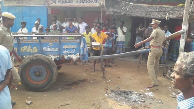 villupuram firing cow injury