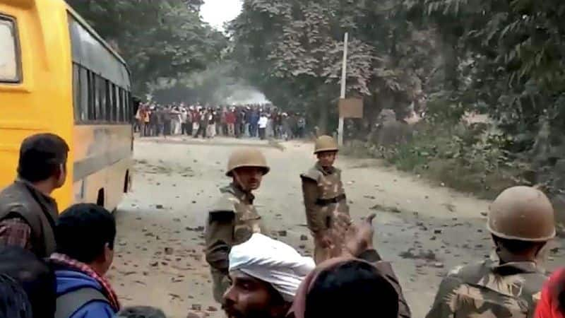 Ghazipur violence: 19 arrested in three cases after constable Suresh Vats killed in stone pelting