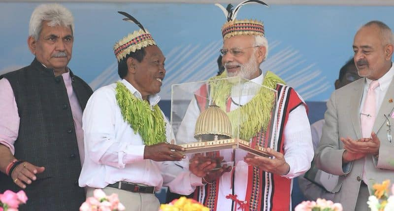 Prime Minister Modi Inaugurated Solar Village, Launch Infra Projects In Andaman And Nicobar