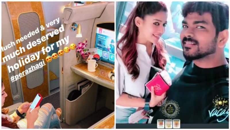 Nayanthara and Vignesh Shivan take off to Las Vegas