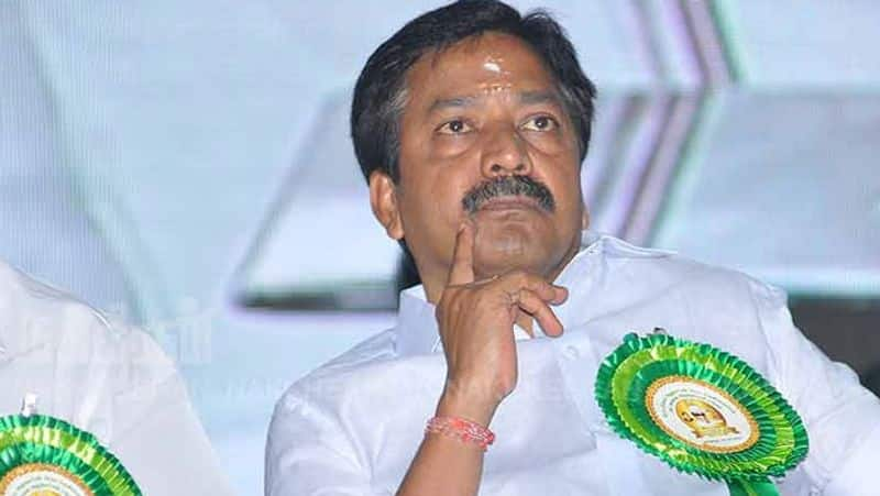 The AIADMK minister was sent back to the door