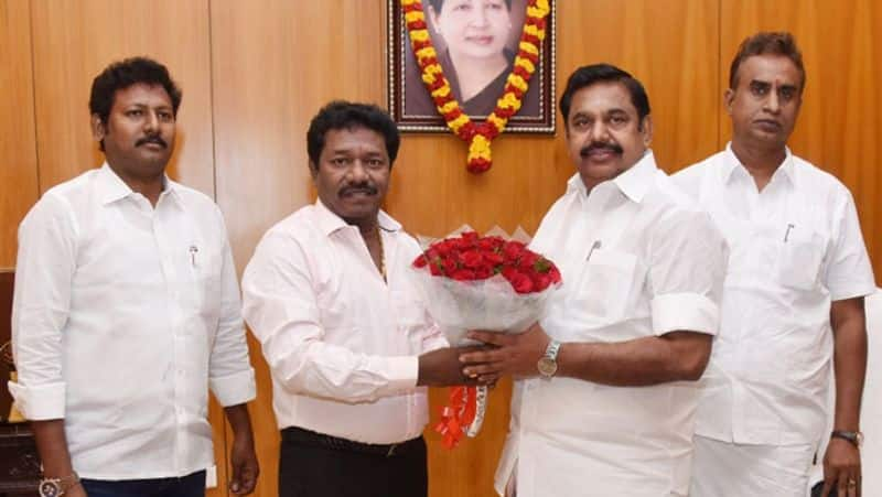 support for sasikala...mla karunas