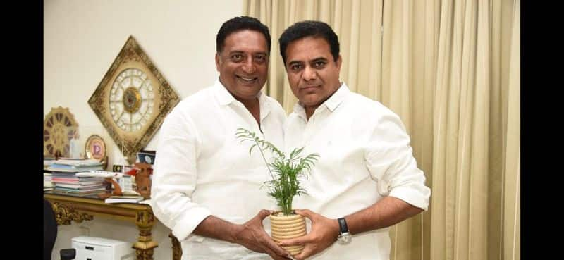 Is actor Prakash Raj joining TRS? Meeting with KTR fuels speculation