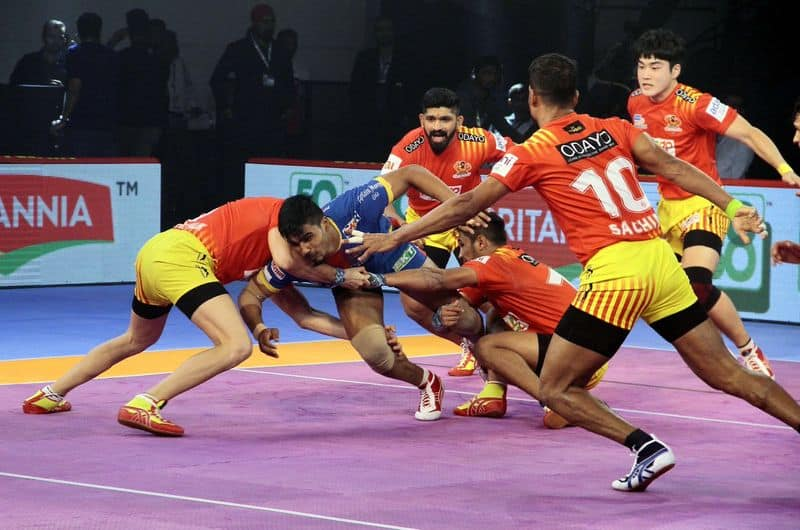 Pro Kabaddi 2018 Can UP Yoddha stop Gujarat Fortunegaints in Qualifier 2