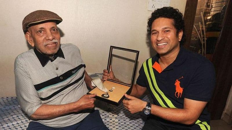 Sachin Tendulkar tribute to Ramakant Achrekar Cricket in heaven will be enriched