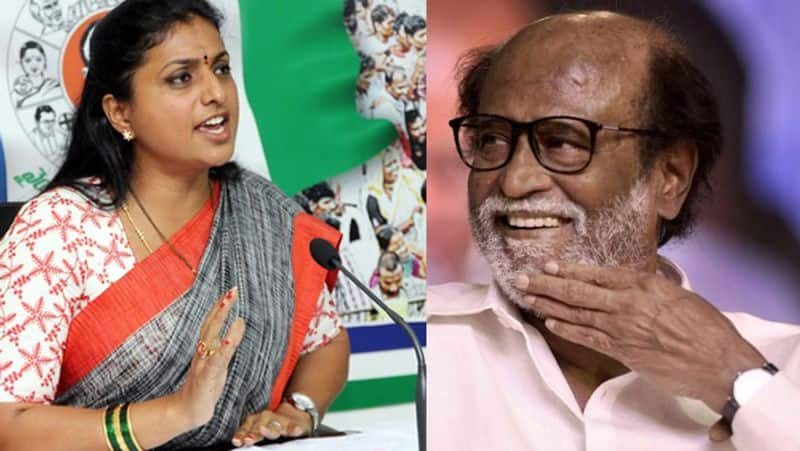 Actres Roja on Rajini's statement about vacuum in political