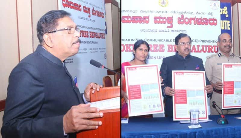 Karnataka deputy chief minister Parameshwara hints at statewide smoking ban