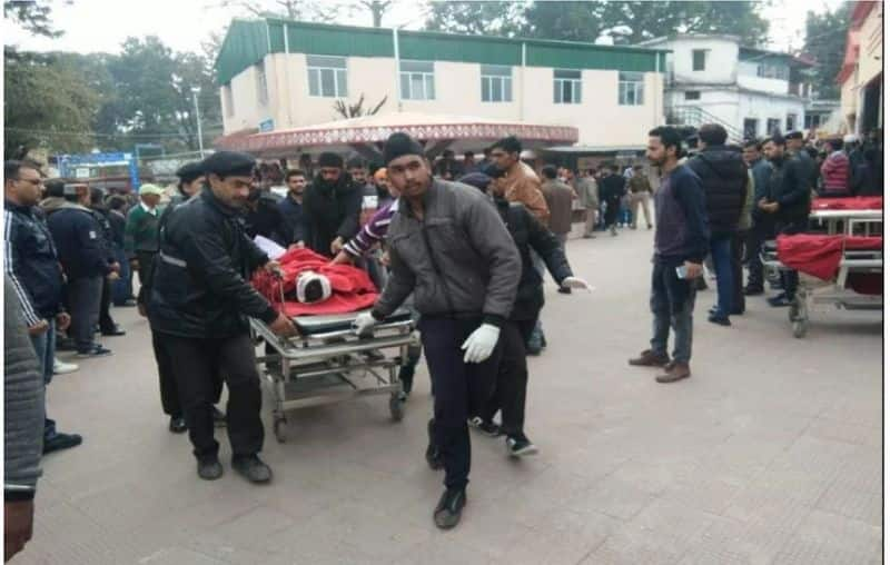 School bus accident in himachal sirmour