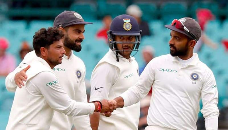 Kuldeep Yadav fifer forces Australia to follow on after 14 years as historic series win beckons