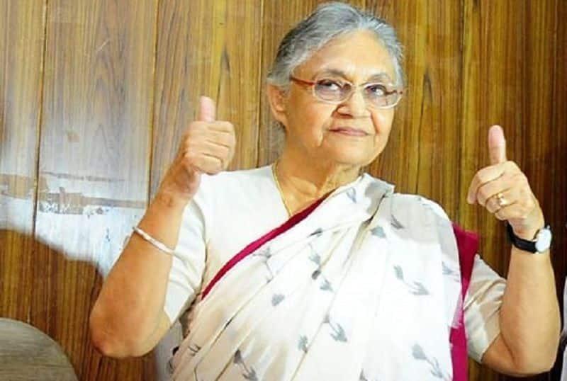 Shiela again became congress president in Delhi