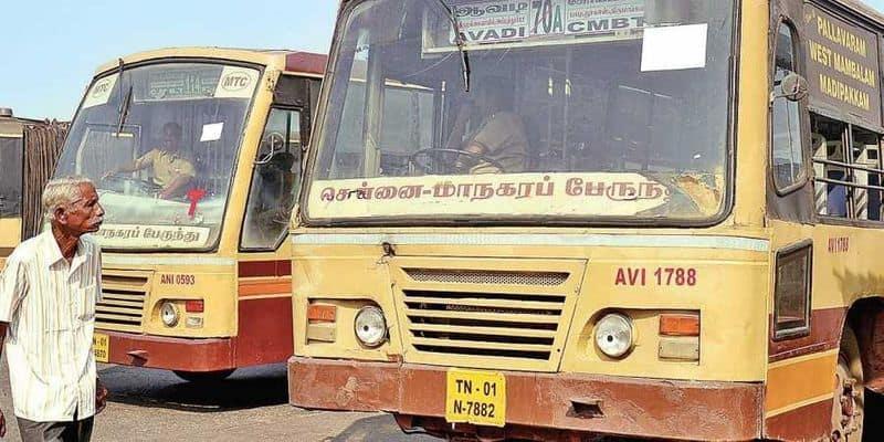 bus operated in tamilnadu