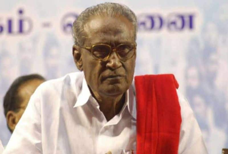 communist senior leader Tha.Pandian health condition critical