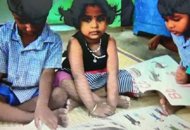 nellai collector admit her daughter in govt anganvadi school