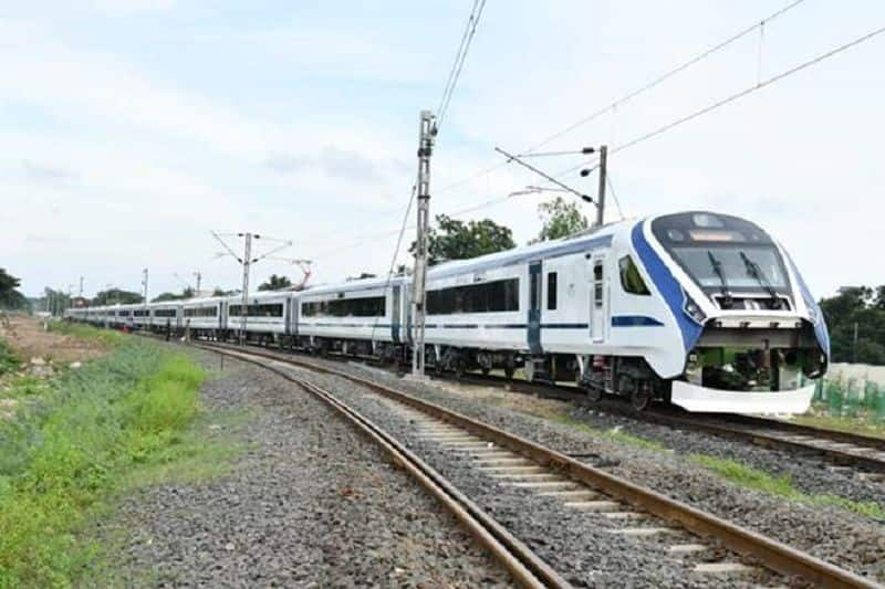 Modi's Make-in-India train Vande Bharat Express races as Rahul Gandhi mocks from family slowcoach