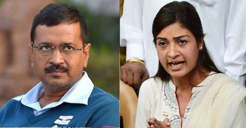 Aap mla alka lamba shuns Arvind kejriwal for disrespect refuses to campaign in elections