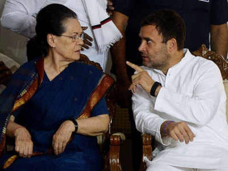sonia and rahul gandhi are facing real challenge with in congress party, many old stalwarts are ready to leave congress