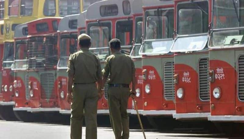 BEST bus drivers are on strike