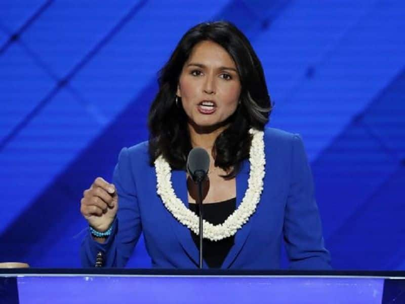 Tulsi gabbard can contest in American president election