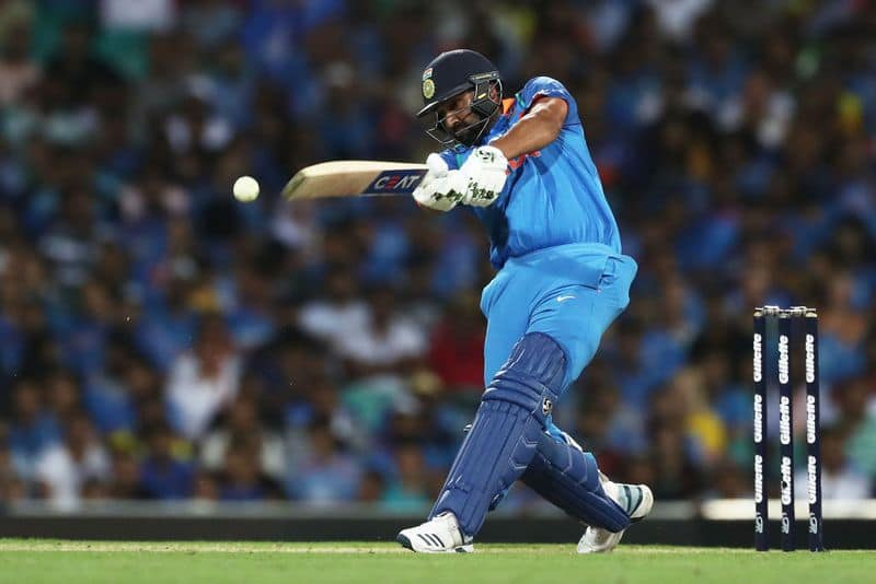 Rohit Sharma equals MS Dhoni's record, slams most sixes for India in one-day internationals