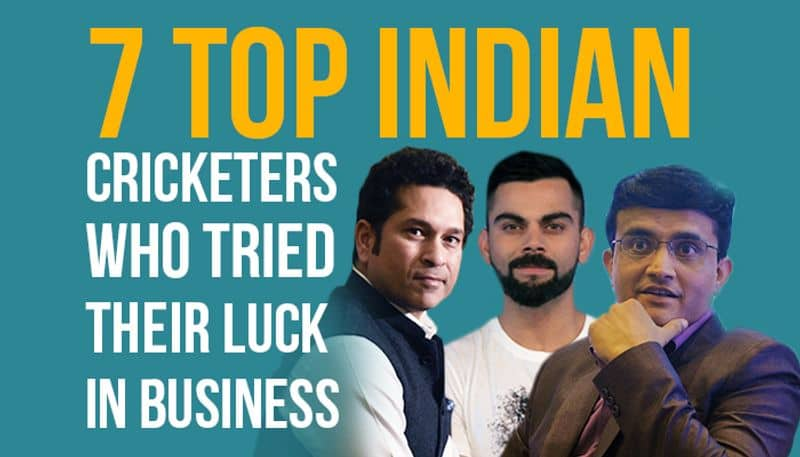 7 top Indian cricketers who tried their luck in business