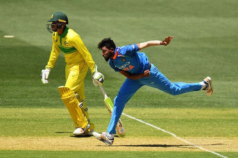 Mohammed Siraj makes ODI debut in Adelaide, with World Cup berth up for grabs