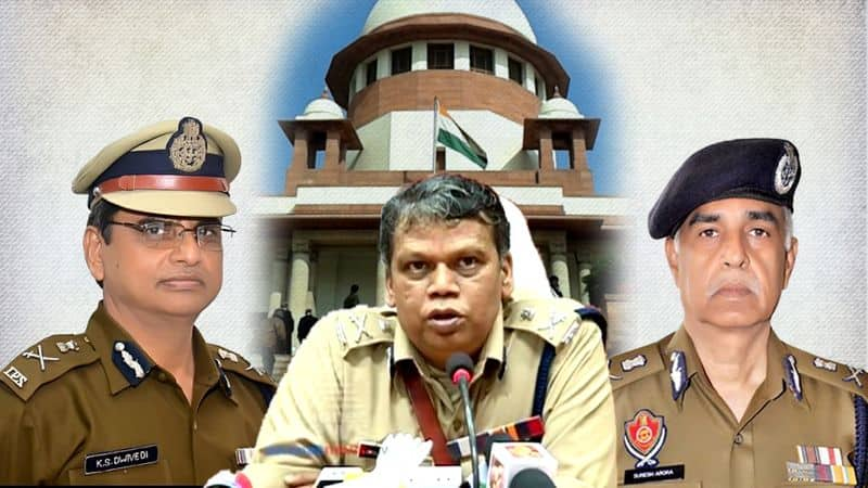 Supreme court corrected his own decision on DGP Recruitment