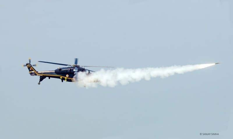 HAL developed new light combat helicopter