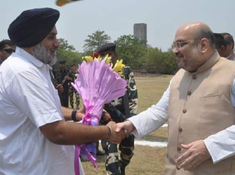 Bjp and akali dal make alliance for ahead election-2019, akali 100a and bjp will contest in 3 seats