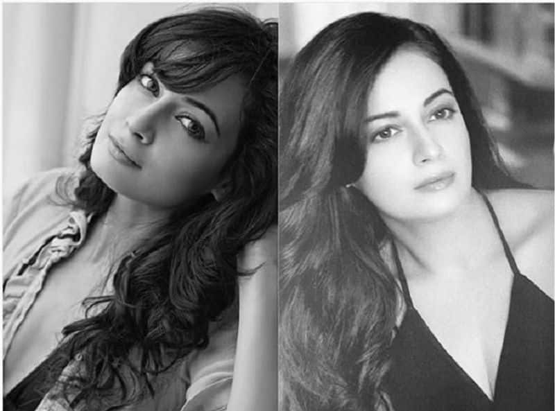 dia mirza shared her baby bump picture from holiday BJC