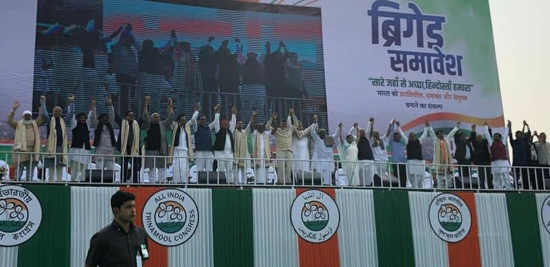 Live: United India rally in Mamta Benerjee's bastion Bengal