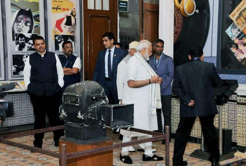 PM Modi  unveils National Museum of Indian Cinema  thanks Bollywood industry