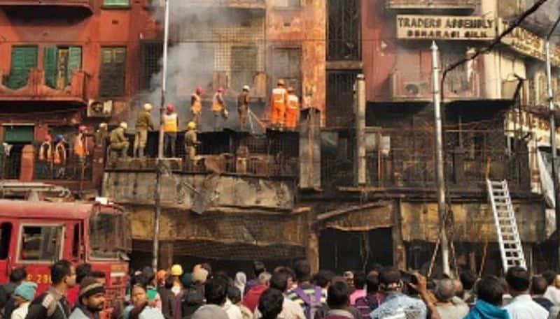 Kolkata fire at garment shop turns goods worth lakhs into ashes