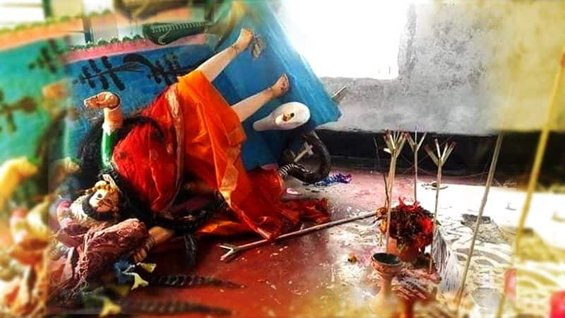 Religious intolerance in Bangladesh: 200-year old Mansa Devi temple desecrated; perpetrator beaten up