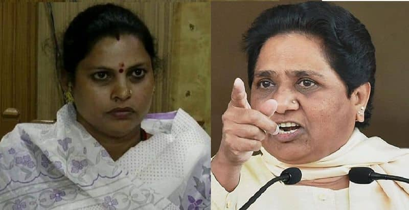 Controversial comment on Mayawati by BJP women leader