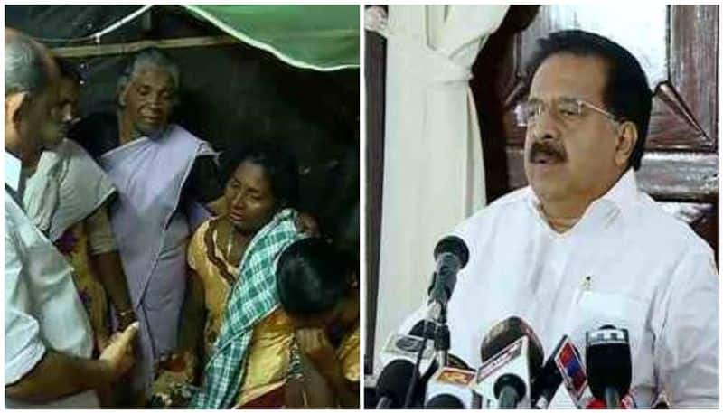 Ramesh Chennithala visits homes victims pesticide poisoning announces Rs 4 lakh for every family