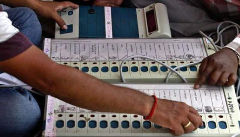 TDP leaders, Jana Sena candidate damage EVMs in Andhra Pradesh
