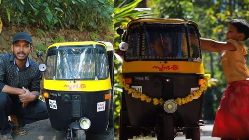 Kerala man builds autorickshaw for 5yearold son video goes viral