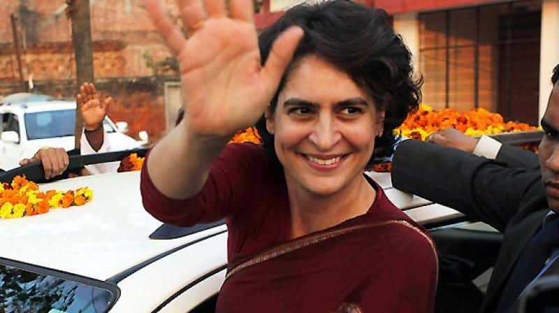 Priyanka Gandhi second most powerful leader in congress party